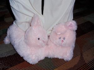 I heart bunny slippers